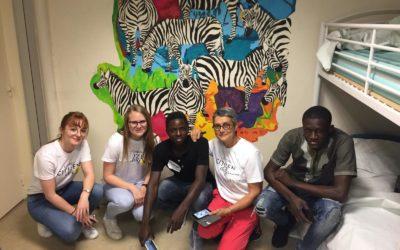 L'Oréal embellit le centre d'accueil pour mineurs