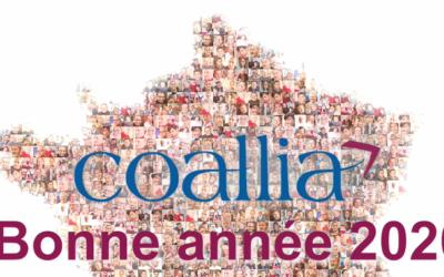 Coallia présente ses meilleurs vœux pour l'année 2020 !