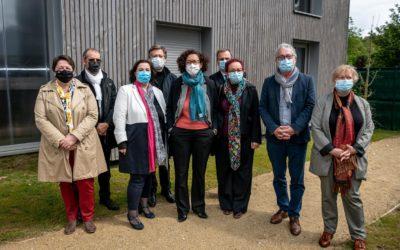 Emmanuelle Wargon inaugure la résidence Jean-Marie Oudot à Méru dans l'Oise