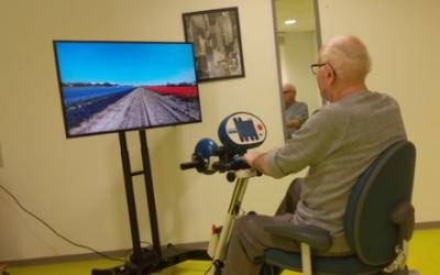 En selle ! Vélo et réalité virtuelle.