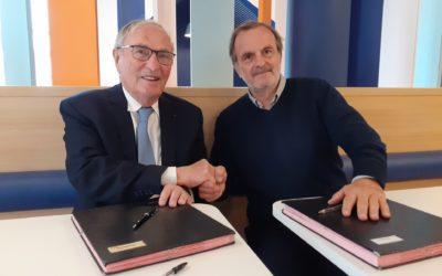 Signature d'une convention cadre entre Le Clos du Nid, l'A2LFS et Coallia