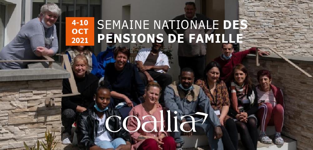 Semaine nationale des Pensions de famille